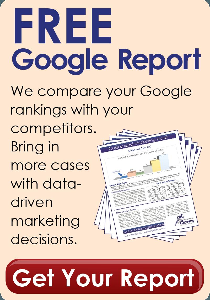 Free Google Report